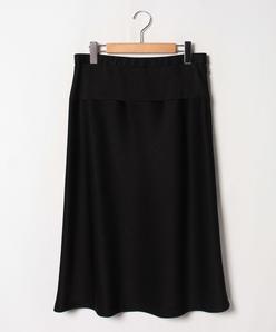 【大きいサイズ】ミッションダブルジョーゼット スカート