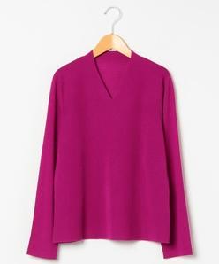 【大きいサイズ】16G Vネックセーター