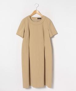 【大きいサイズ】インポートシアサッカードレス