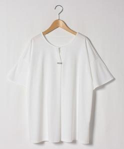 【大きいサイズ】【洗える】スムースロイヤルクール 半袖カットソー