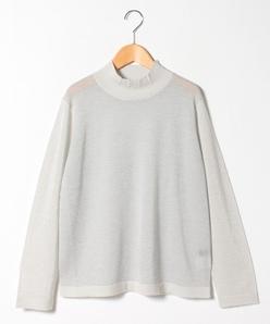 【アンサンブル対応】【大きいサイズ】カシミヤ混 フェアリーテールセーター