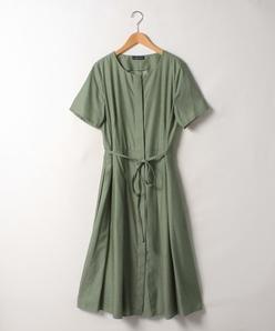 【大きいサイズ】【洗える】エコフィルシャンブレードレス