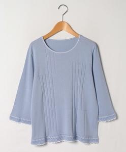 【大きいサイズ】12G ホールガーメントセーター