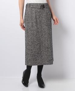 ヘリンボーンジャカードスカート