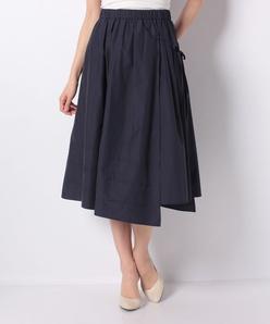 【セットアップ対応】ラップデザインフレアースカート