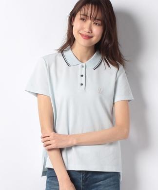 ワンポイント刺繍ポロシャツ