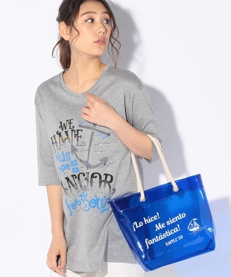 【STORY6月号掲載】アンカーTシャツ+クリアバッグSET
