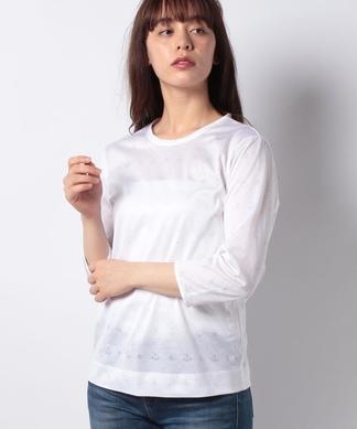 イカリ×スターモチーフプリントTシャツ