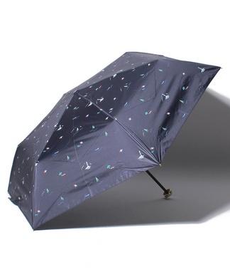【晴雨兼用】マリンモチーフプリント折り畳み傘