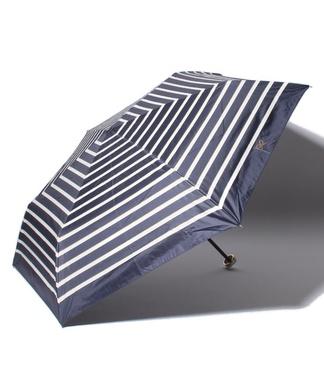 【晴雨兼用】ボーダー柄折り畳み傘