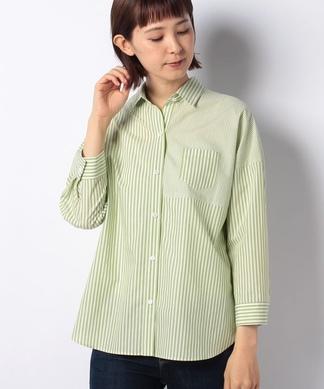 【特別提供品】ストライプミックスシャツ