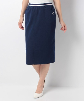 【特別提供品】マリンルックタイトスカート