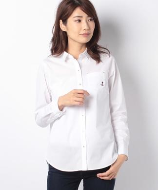 【STORY12月号掲載】アンカー刺繍シャツ