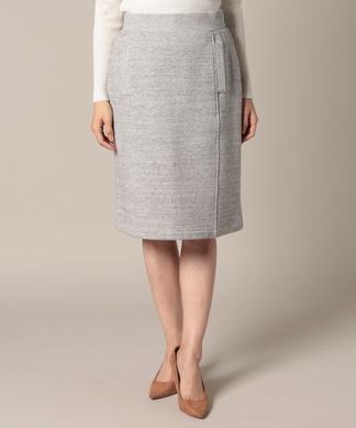 【STORY12月号掲載】【セットアップ対応】裏毛のタイトスカート