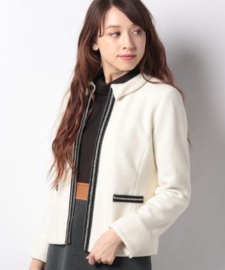 【特別提供品】パール風モチーフジャケット