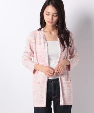 【AMINA】ニットジャケット