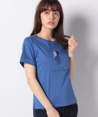 レディプリントTシャツ