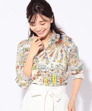 【セットアップ対応】 【LISA】プリントシャツ
