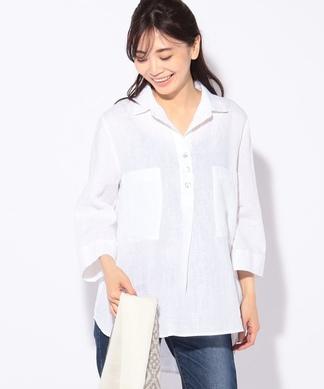 【ECCENTRICA】リネンシャツ