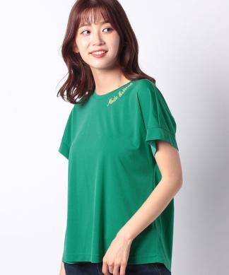 【特別提供品】衿刺しゅうのTシャツ