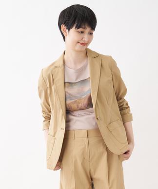 【セットアップ対応商品】テーラードジャケット