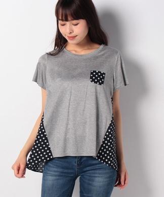 【特別提供品】水玉MIXのTシャツ