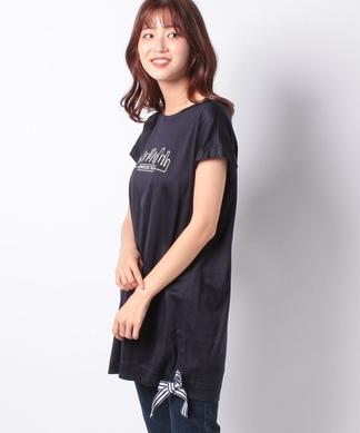 【特別提供品】風景柄のチュニックTシャツ
