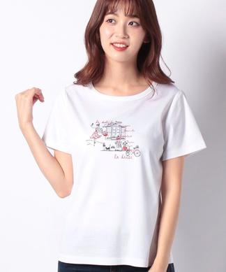 【特別提供品】ガールプリントTシャツ