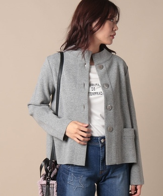 【ANNE CLAIRE】ニットジャケット