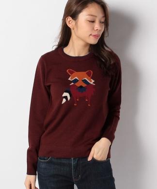 アニマルモチーフセーター