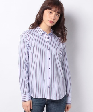 【ALBINI】ストライプシャツ