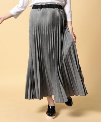 【セットアップ対応】グレンチェックのプリーツスカート