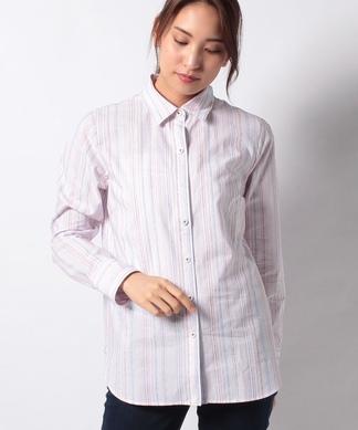 【LEGGIUNO】ロゴストライプシャツ(箱付き)