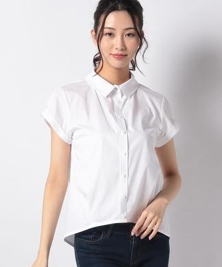 フレンチスリーブ半袖シャツ