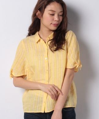 【PAGANINI】ストライプシャツ