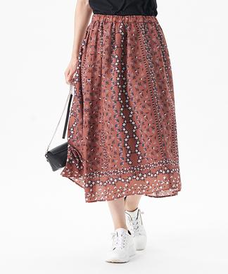 【セットアップ】【LISA】フラワースカート