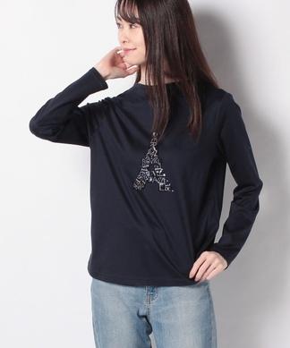 エッフェルモチーフTシャツ