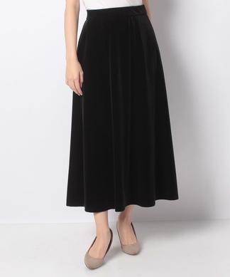 【セットアップ】ベロアのロングスカート