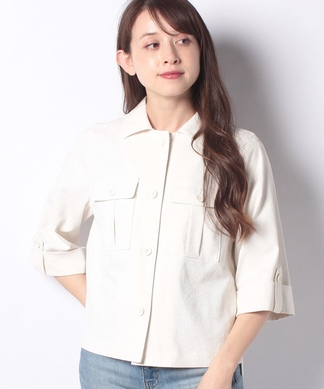 【特別提供品】5分袖シャツジャケット