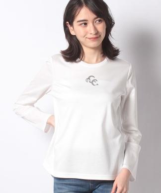 スパンコール使いTシャツ