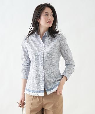 【FABIO DANI】フラワーシャツ