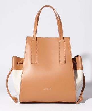 【AGATA】異素材組み合わせハンドバッグ