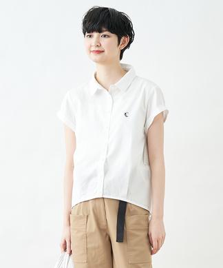 ワンポイント入りシャツ