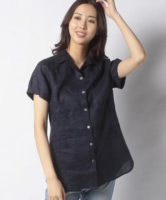 【FABIO DANI】刺しゅうシャツ