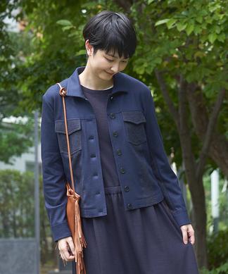 【BURNS&FACTORY】ジャージージャケット
