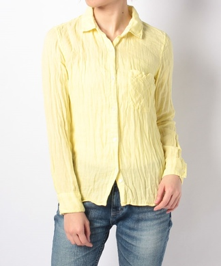 【YANUK】カラーコットンシャツ