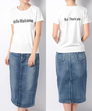 【GALENA】  プリントTシャツ