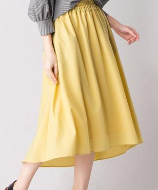 【RESPEC】ワンカラーロングスカート
