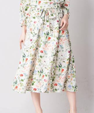 【セットアップ対応商品】【Sono】花柄スカート