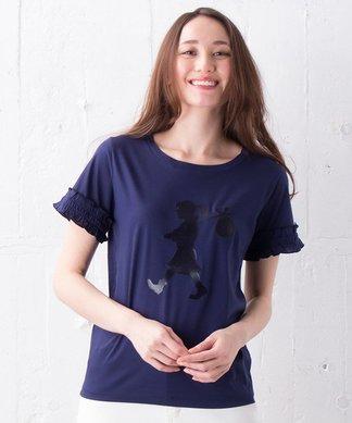【KAREN WALKER】シルエットプリントTシャツ